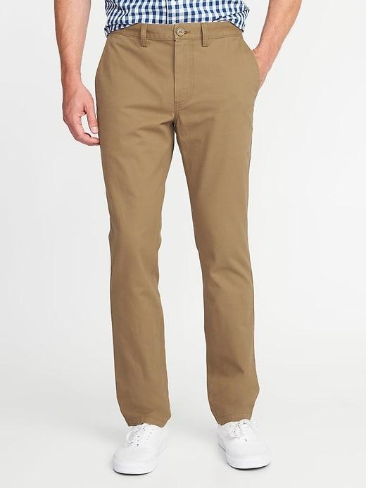 Straight Uniform Khakis for Men