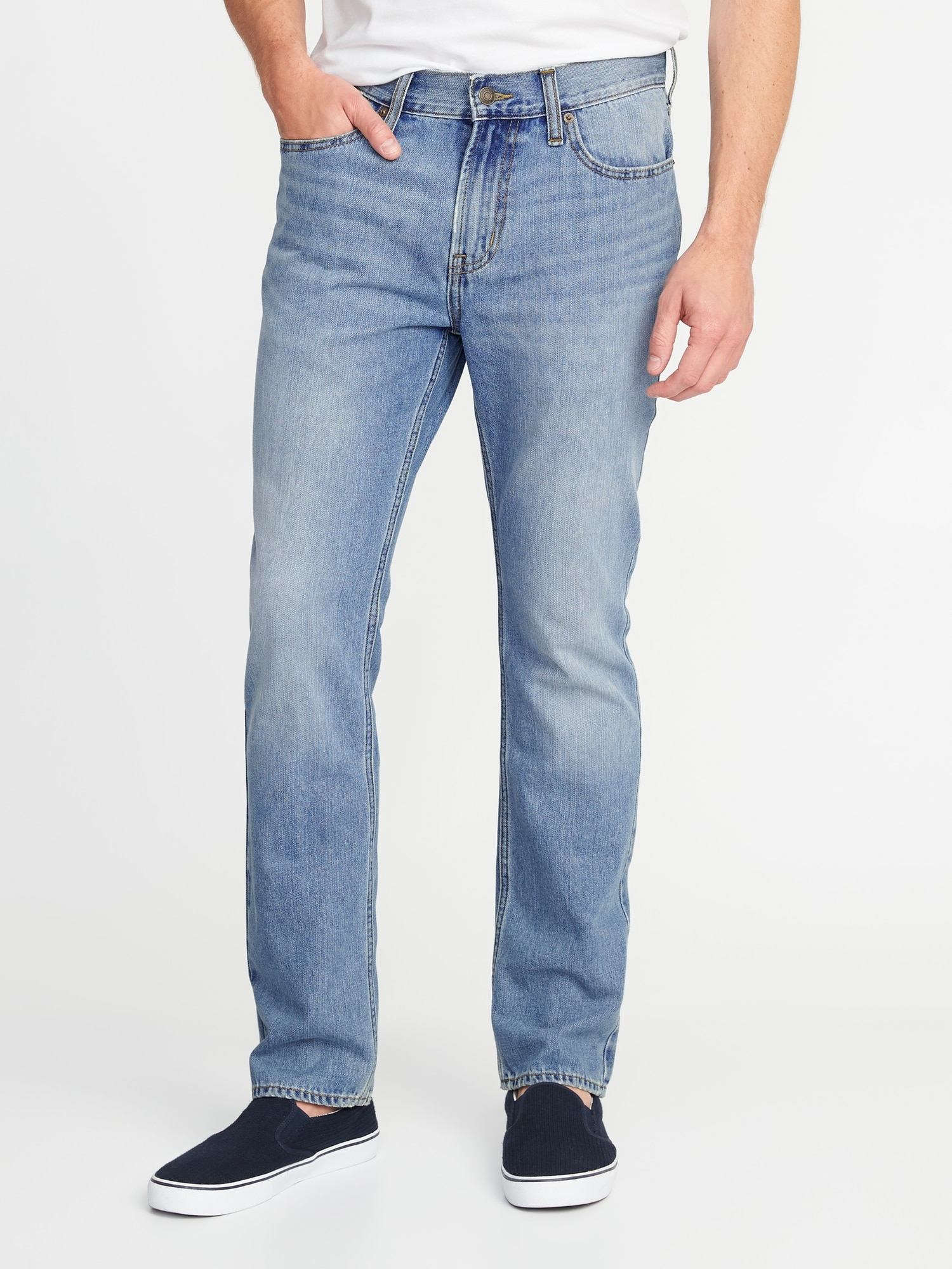 *Hot Deal* Straight Rigid Jeans For Men