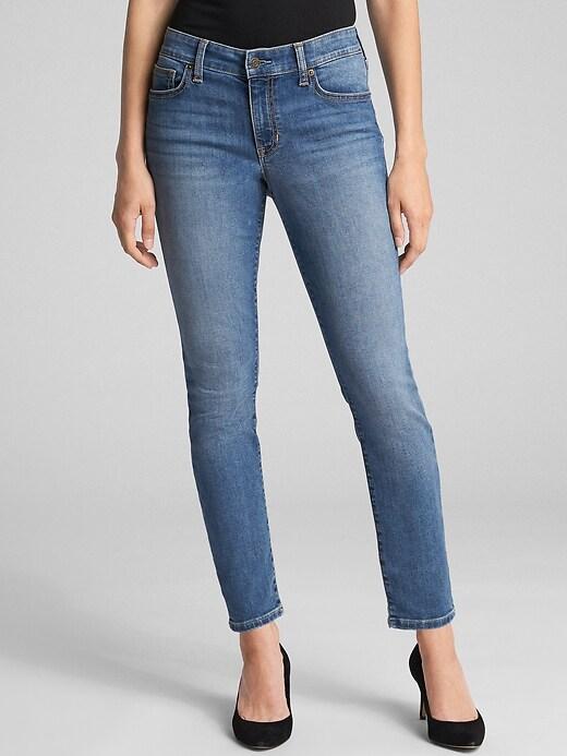 Mid Rise Legging Jeans