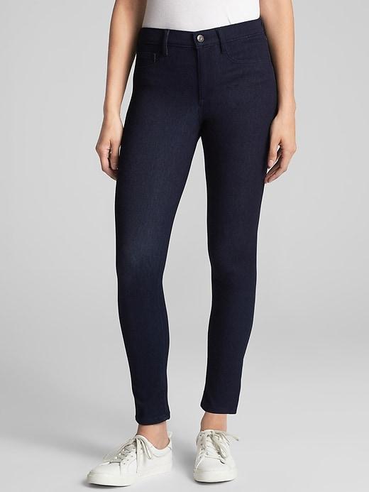 Mid Rise Soft Wear Legging Jeans