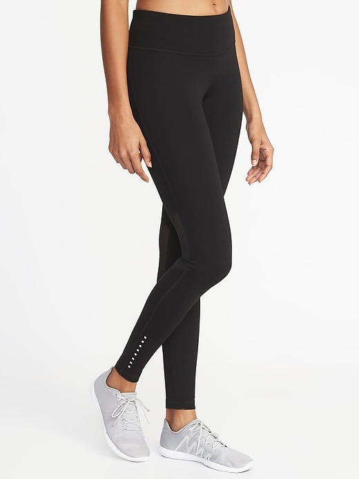 Mid-Rise Elevate Lightweight Compression Run Leggings for Women