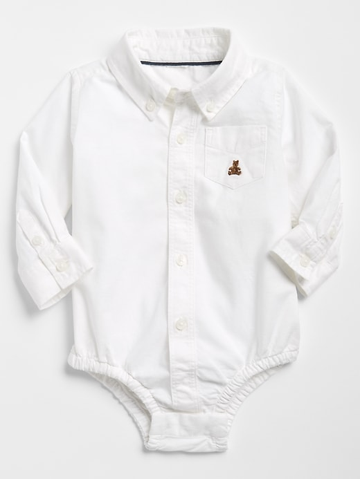 Baby Oxford Bodysuit