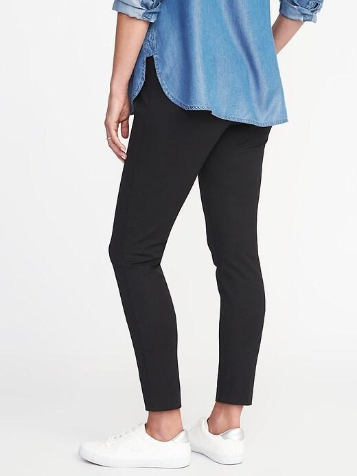 Pantalon long de maternité Pixie avec panneau complet