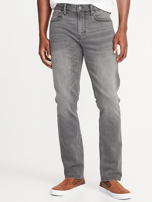 Jean gris Built-In Flex 24/7, coupe étroite pour homme