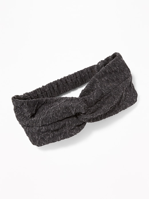 Textured Jersey Head Wrap for Women
