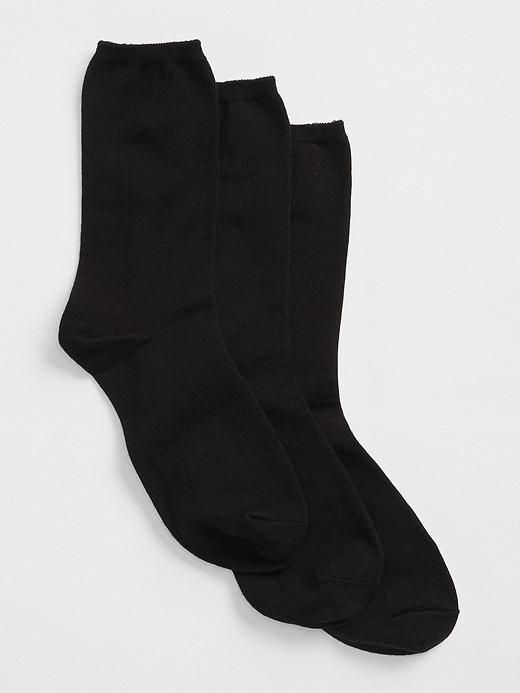 Basic Crew Socks (3-pack)