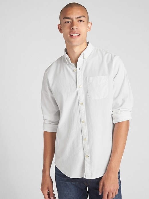 Chemise oxford extensible, coupe standard