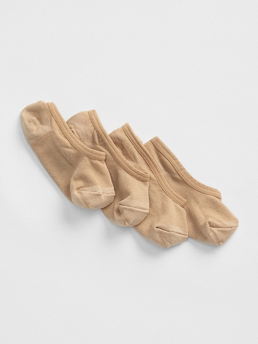 Nylon No-Show Socks (2-Pack)