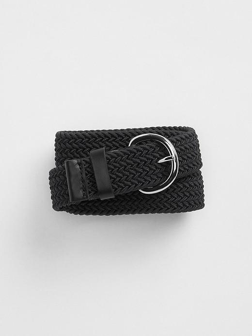 Elastic Braided Belt