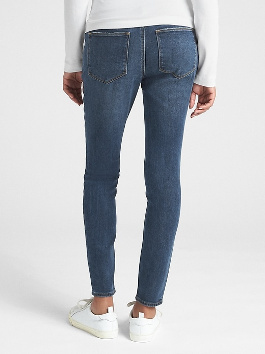 Maternity Soft Wear Demi Panel True Skinny Jeans