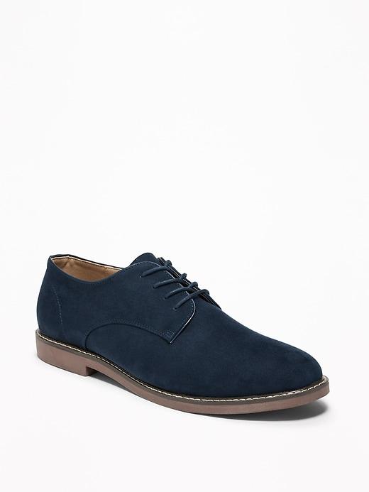 Chaussures en faux daim au fini suédé pour homme