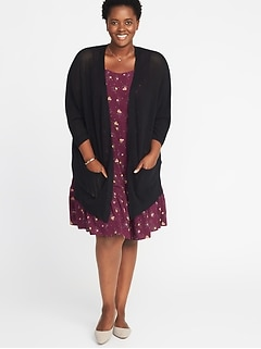 326c56211a2 Best of Clearance. Textured-Knit Dolman-Sleeve Plus-Size ...