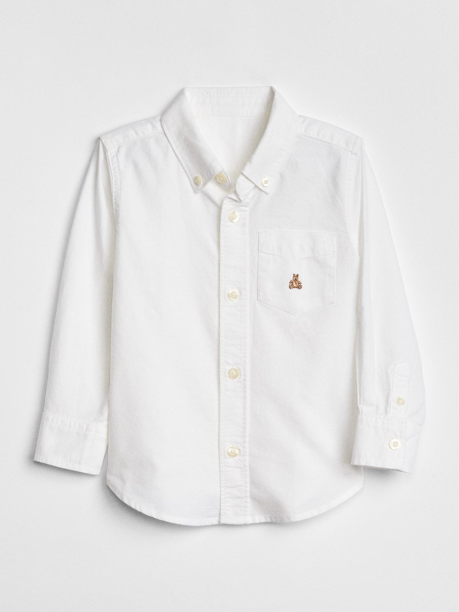 オックスフォード ボタンダウンシャツ(幼児)