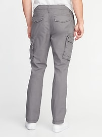 Straight Lived-In Built-In Flex Cargo Pants for Men