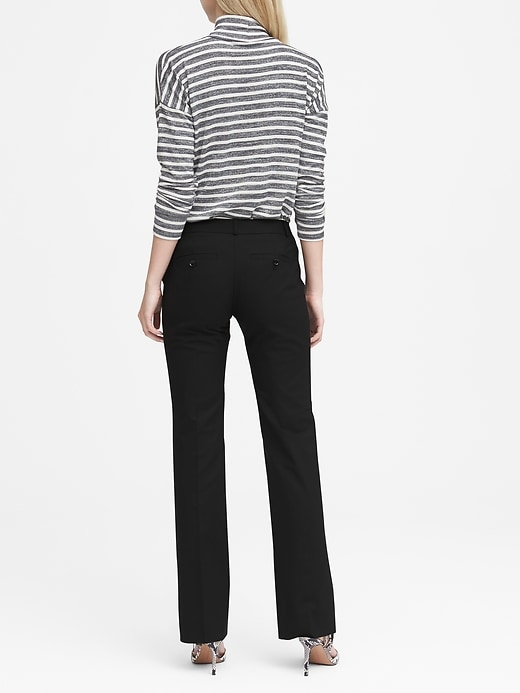 Logan Trouser-Fit Lightweight Wool Pant