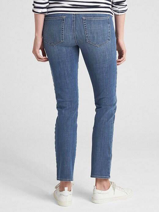 Maternity Full Panel Classic Straight Jeans