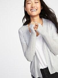 Short Open-Front Sweater for Women