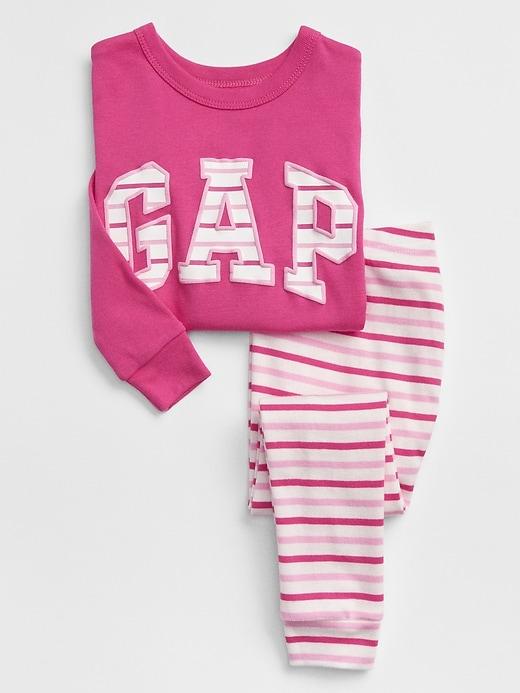 babyGap Gap Logo Pajama Set