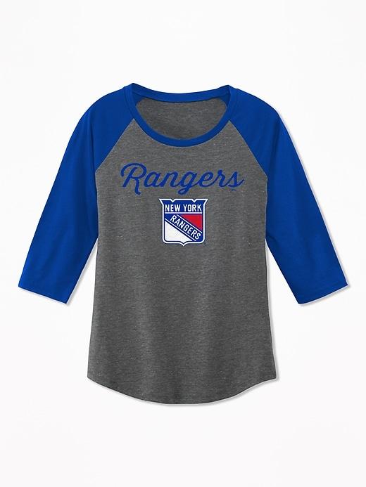 NHL&#174 Raglan Tee for Girls