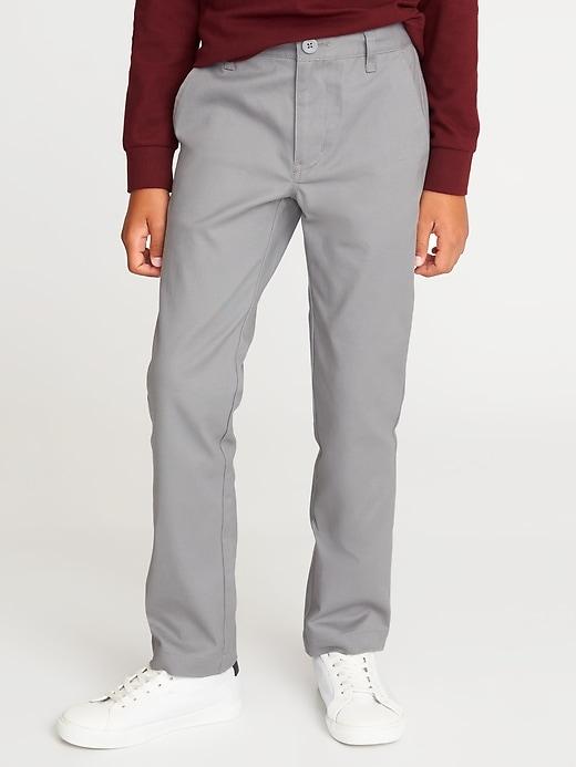 Skinny Built-In Flex Uniform Pants for Boys