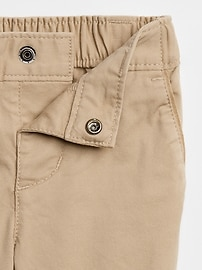 Baby Khakis In Stretch
