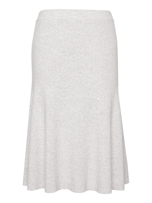 JAPAN EXCLUSIVE Ribbed Sweater Skirt