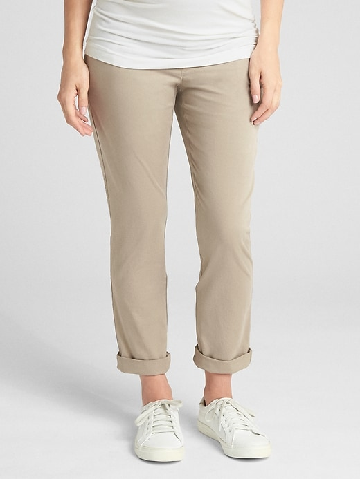 Maternity Demi Panel Girlfriend Chinos