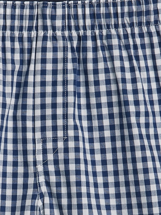 """4.5"""" Gingham Boxers"""