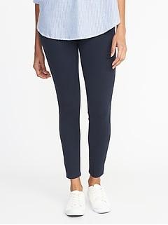 ffa6c53add421 Jersey Elastic-Waist Leggings for Women