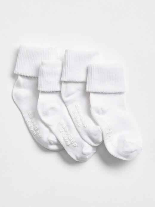 Toddler Roll Socks (4-Pack)