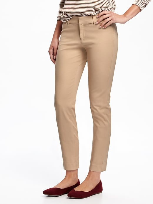 The Pixie Mid-Rise Ankle Pants
