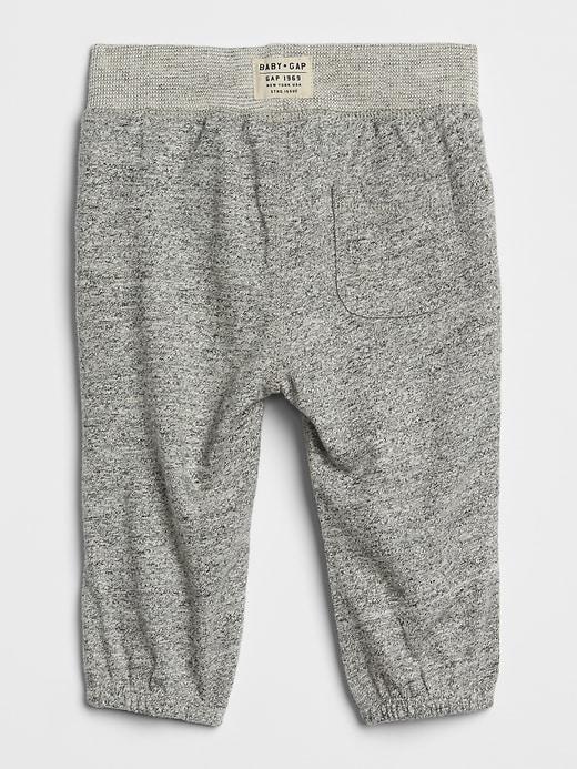 Pantalon moiré à enfiler pour bébé