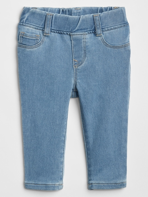 Baby Pull-On Jeggings in Stretch