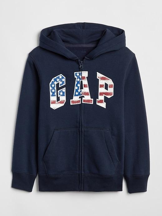 Kids Gap Logo Hoodie Sweatshirt