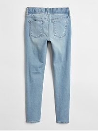 Kids Destructed Jeggings with Stretch