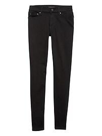 Petite FadeResist Black Mid Rise Skinny Jean