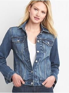 Image result for jean jacket gap