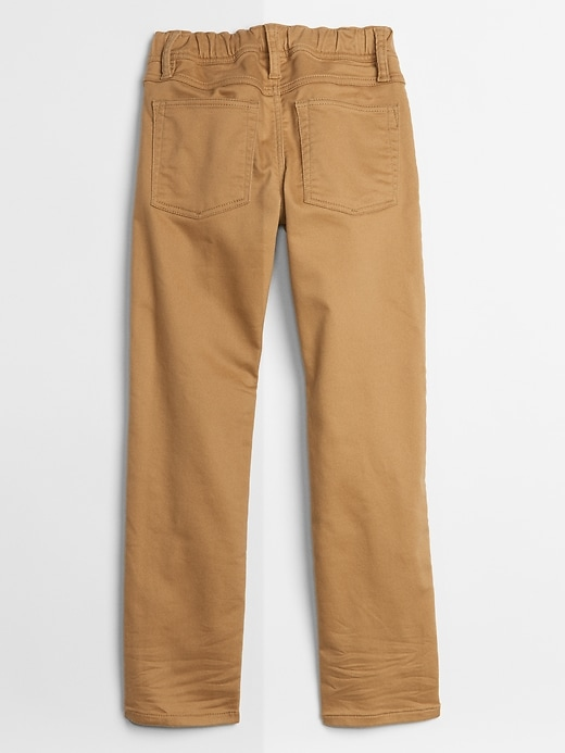 Kids Pull-On Knit Jeans in Slim Fit with Fantastiflex