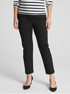 c72692a273a44 Maternity Full Panel Slim City Crop Chinos