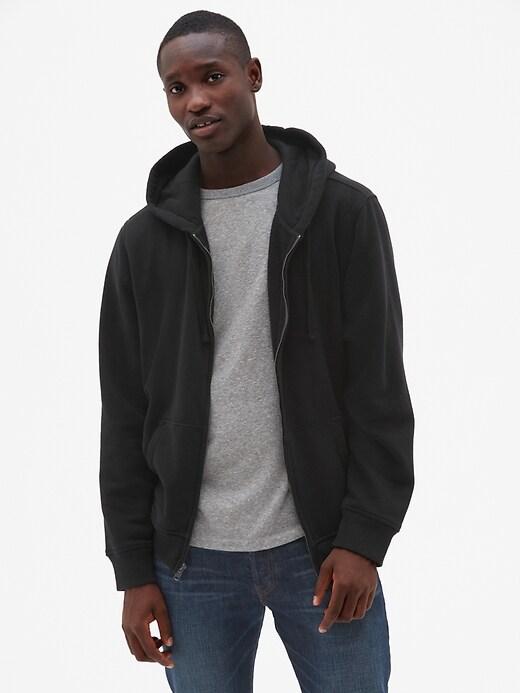 Vintage Soft Full-Zip Hoodie