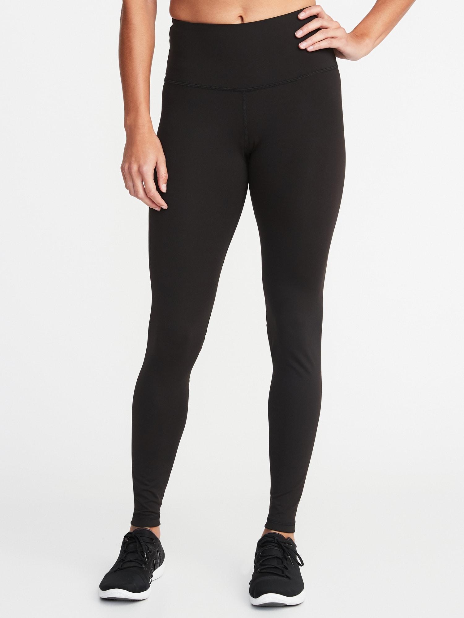 old navy womens black leggings