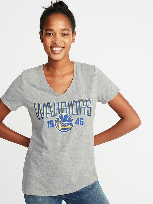 NBA&#174 Team-Graphic V-Neck Tee for Women