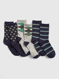e278b89cd Kids Dress Crew Socks (3-Pack)