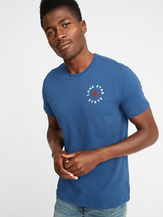 Texas Graphic Tee For Men