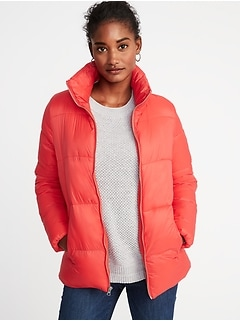 Frost-Free Puffer Jacket for Women