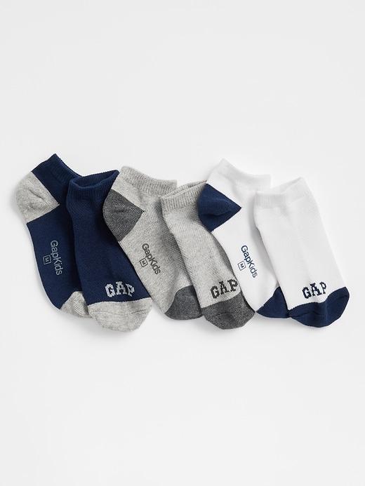 Kids Gap Logo No-Show Socks