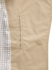 Petite Water-Resistant Classic Trench Coat