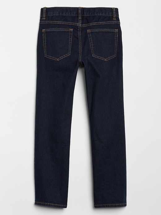 Kids Straight Jeans with Stretch