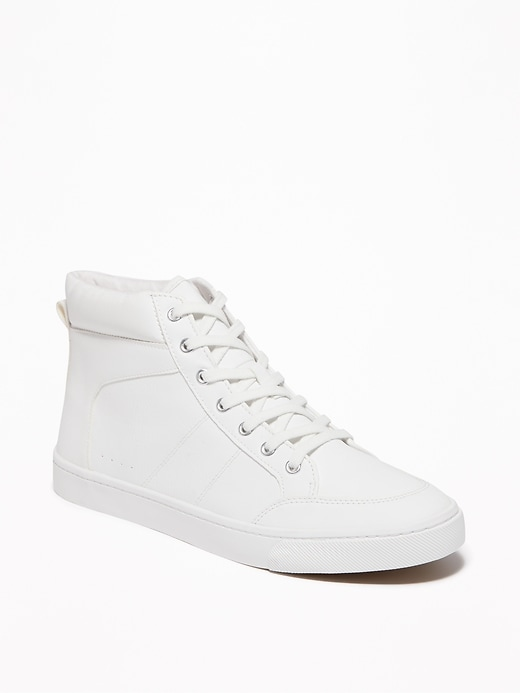 Faux-Leather High-Tops for Women
