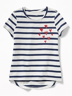 2055f1a087912 Softest Crew-Neck Tee for Girls